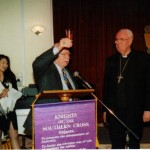 Cheers - Bishop Robert Healy - a wonderful supporter of OFEC