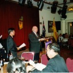 Neville Ward - Chairman - Fundraising Function